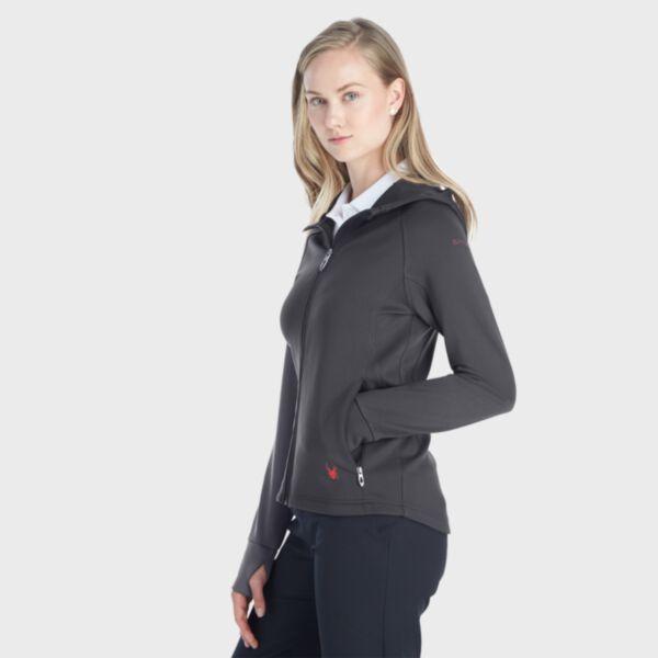 Spyder Ladies' Hayer Full-Zip Fleece Hoodie