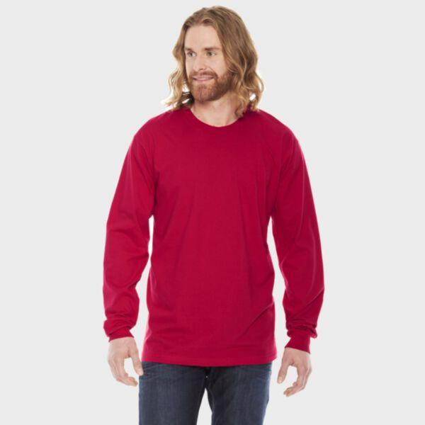 American Apparel Fine Jersey Long Sleeve T-Shirt