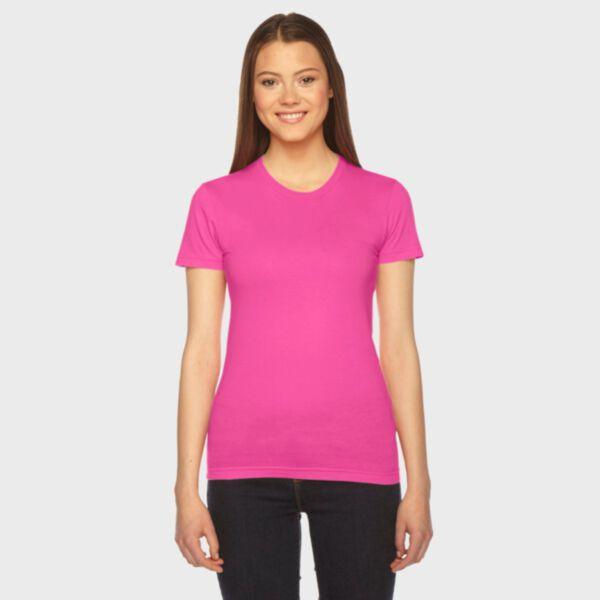 American Apparel Ladies' Fine Jersey T-Shirt