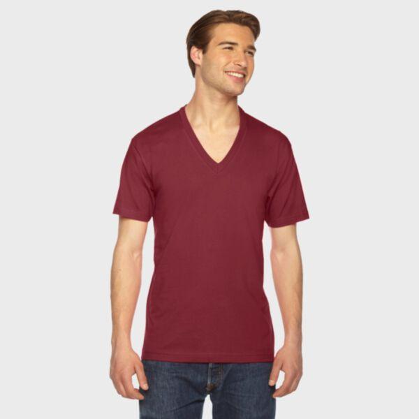 American Apparel Fine Jersey V-Neck T-Shirt