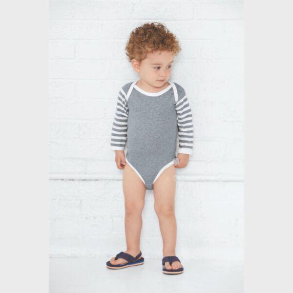 Rabbit Skins Infant Long Sleeve Bodysuit