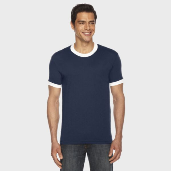 American Apparel Poly-Cotton Ringer T-Shirt