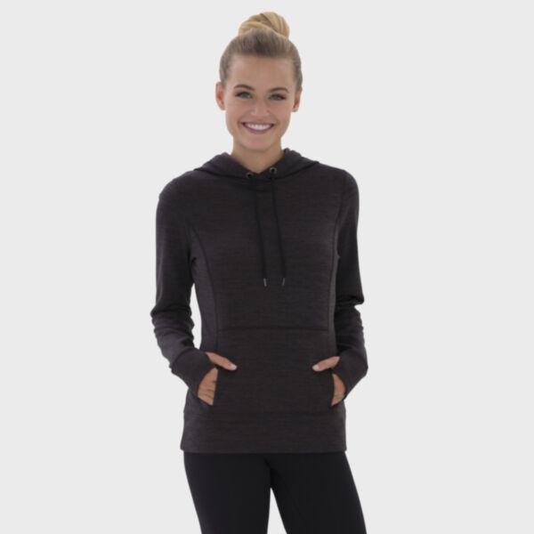 ATC Ladies' Dynamic Heather Fleece Hooded Sweatshirt