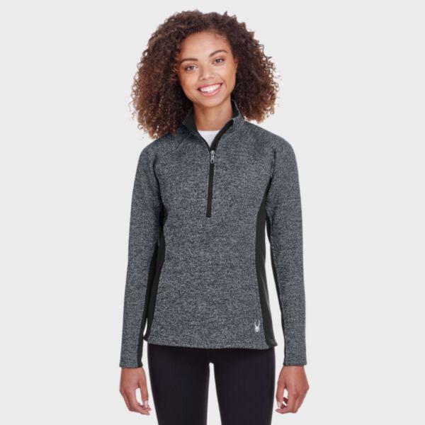 Spyder Ladies' Constant Half Zip Sweater