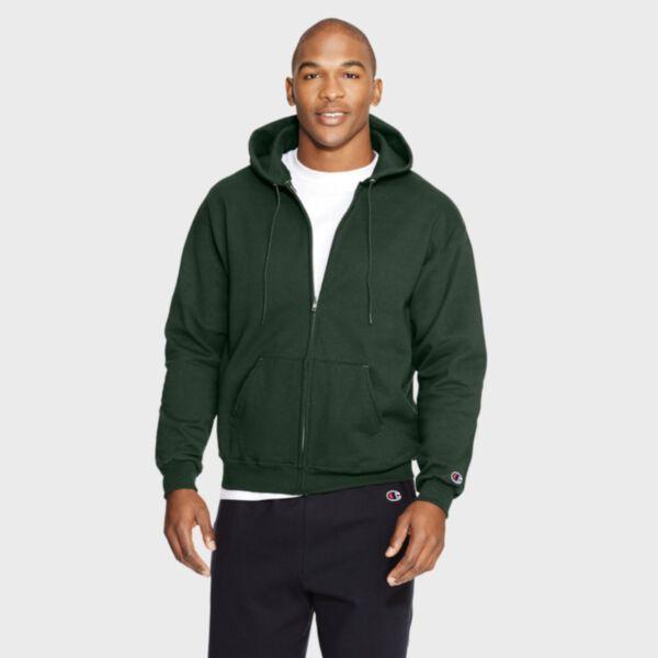 Champion Adult Double Dry Eco Full Zip Hood