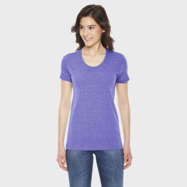 American Apparel Ladies' Triblend Track T-Shirt
