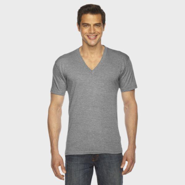 American Apparel Triblend V-Neck T-Shirt