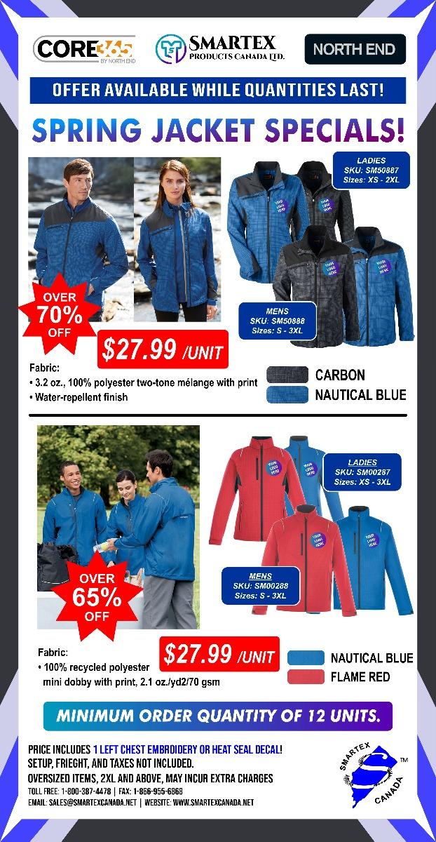 Spring Jacket Specials