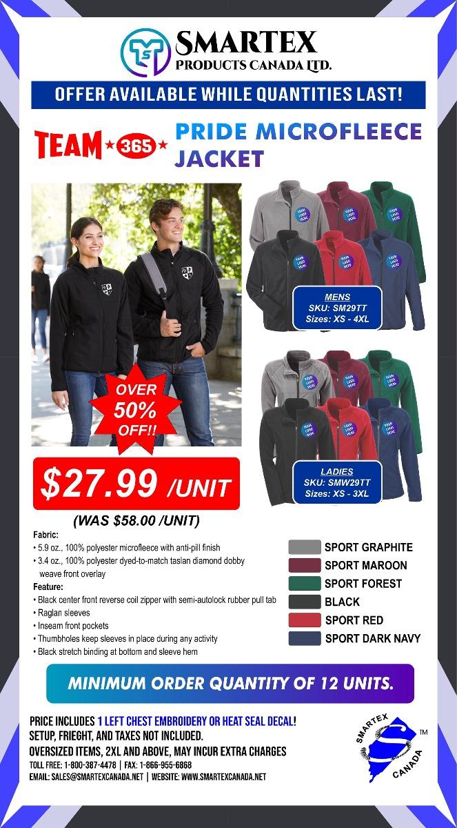 Team 365 Microfleece Jacket