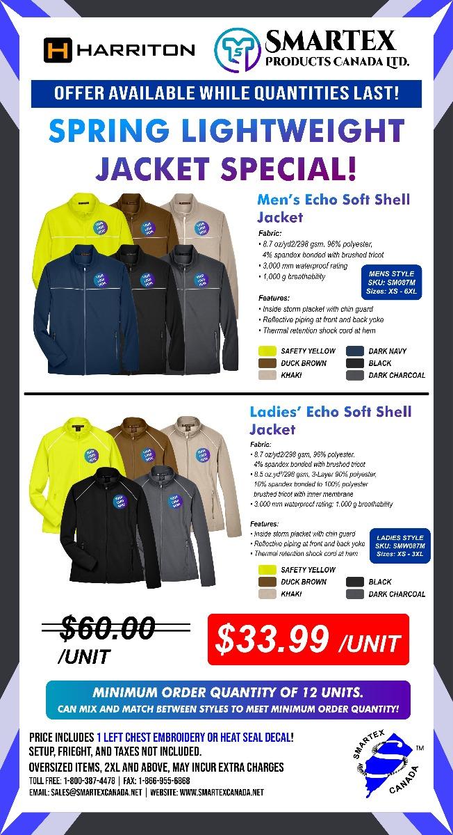 Spring Lightweight Jacket Specials