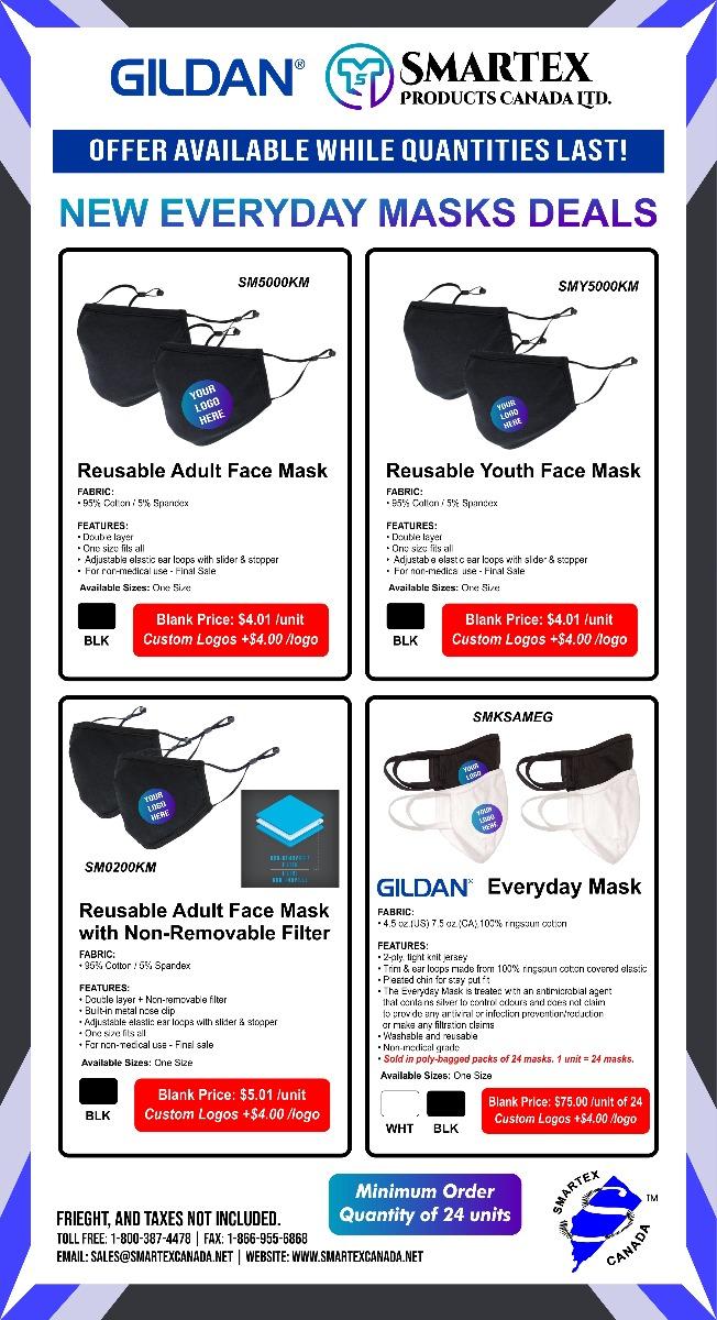 New Everyday Masks