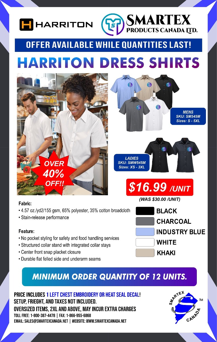 Harriton Dress Shirt Special