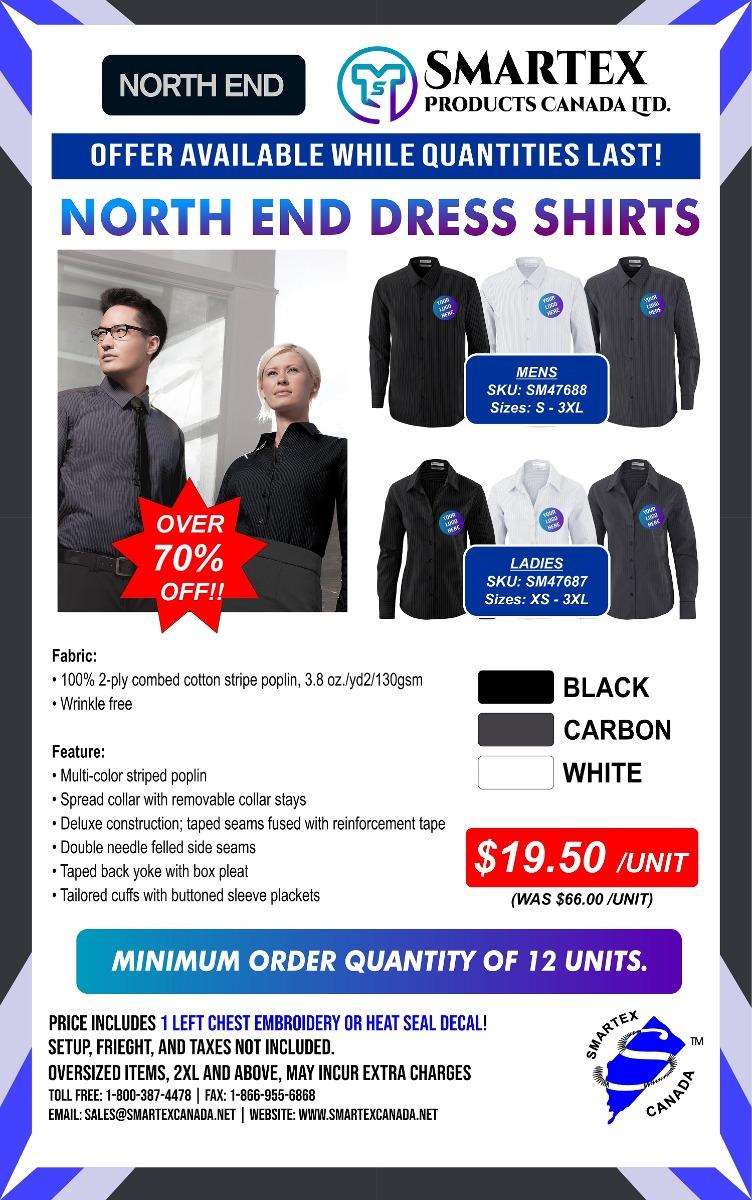 More North End Dress Shirts