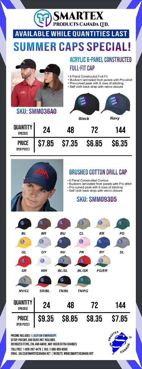 Summer Caps Special